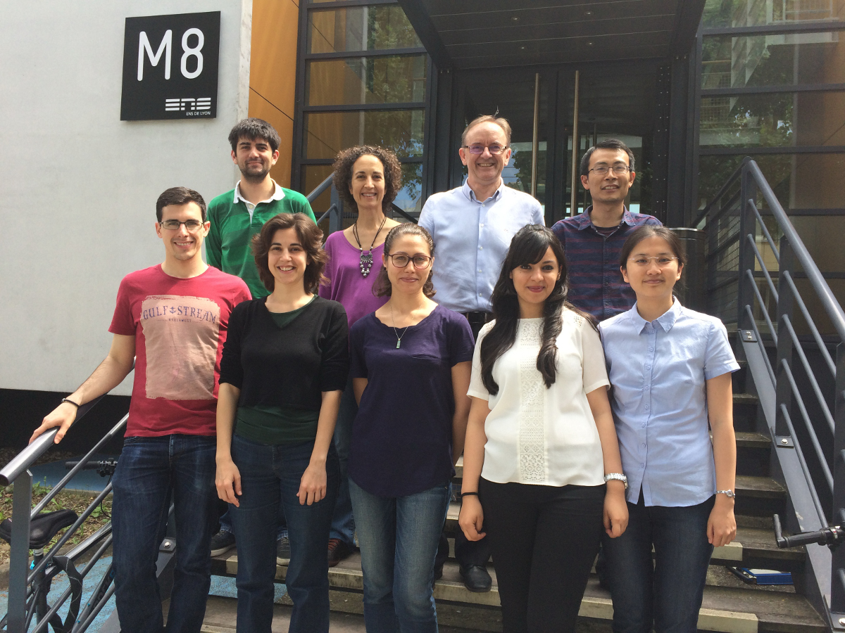Surface Engineering and Reactivity Group Picture June 2016