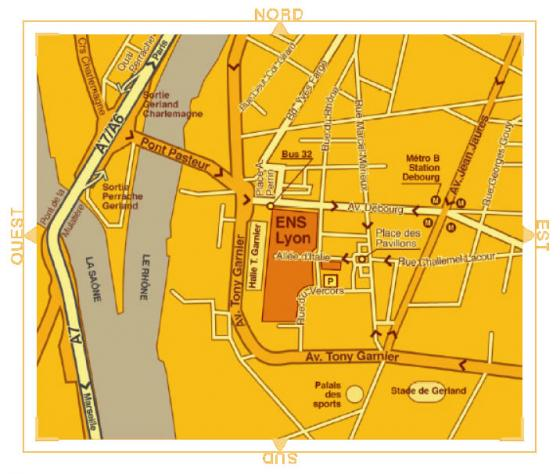 map of ENS