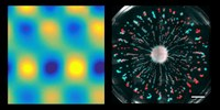 From topological surface states to metabolically driven flows in stratified fluids