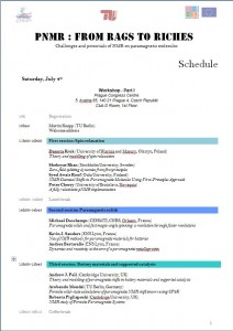 Detailed Schedule - click to enlarge
