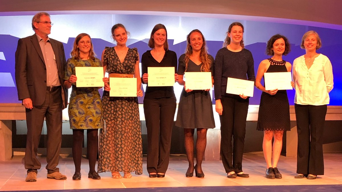The recipients in formal sciences © For women in Science