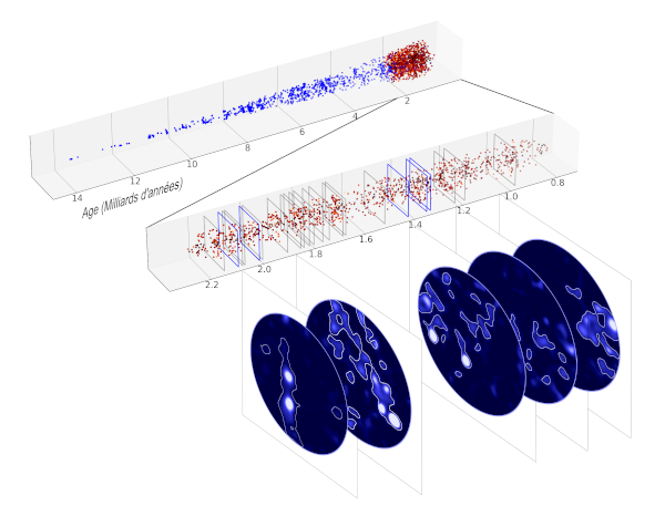 The 2250 galaxies in the 'cone' of the Universe observed by MUSE