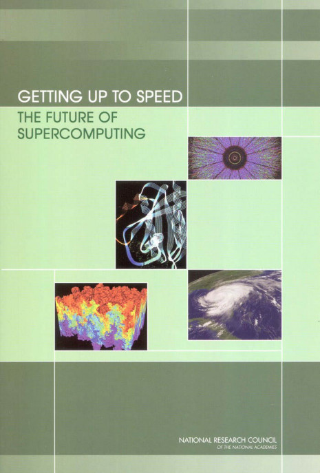 Supercomputing book cover