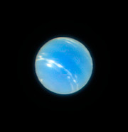 PR Image eso1824a Neptune from the VLT with MUSE/GALACSI Narrow Field Mode adaptive optics