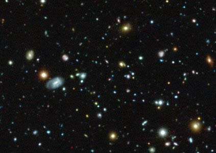 Galaxies observées par MUSE