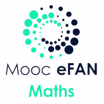 Logo MOOCs eFAN Maths