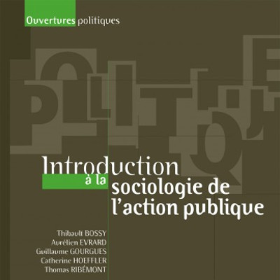 Couverture de l'ouvrage Introduction à la sociologie de l'action publique