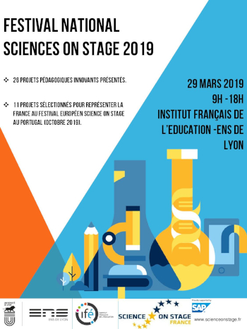 ​​AFFICHE SCIENCE ON STAGE
