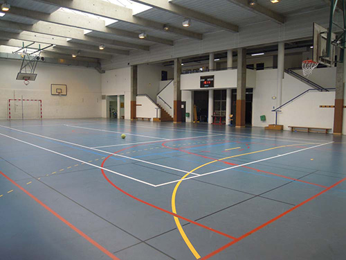 Photo du gymnase du site Monod