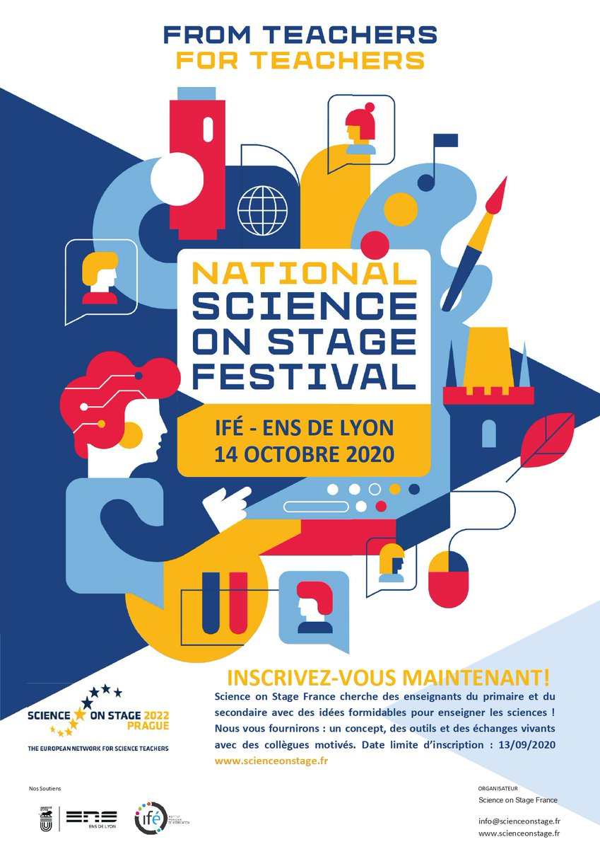 affiche Science on stage