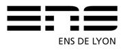logo de l'ENS de Lyon