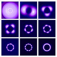 Un nouveau modèle pour expliquer les modulations lumineuses des décharges plasma