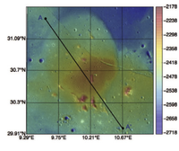 Looking for solidified magma reservoirs on the terrestrial planets using a model of elastic-plated gravity currents